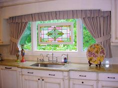 modern country kitchen curtains