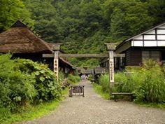 鶴の湯,  乳頭温泉郷、Akita