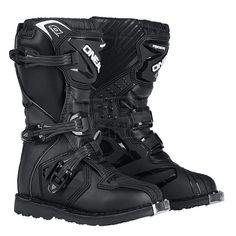 2015 ONeal Rider Kids Motocross Boots - Black Size UK 12 [Euro 31]