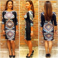 Centipede Bodycon Dress- Poly Spandex. No Zip or Button Closure. One Piece.Size S (0-3)Size M (4-6)Size L (8-10)