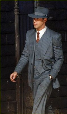 Angeljackets.com offers Ryan Gosling Gangster Squad Suit in $249.00 only with free shipping worldwide.