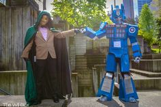 Tardimus Prime And Doctor Whoom [Cosplay]