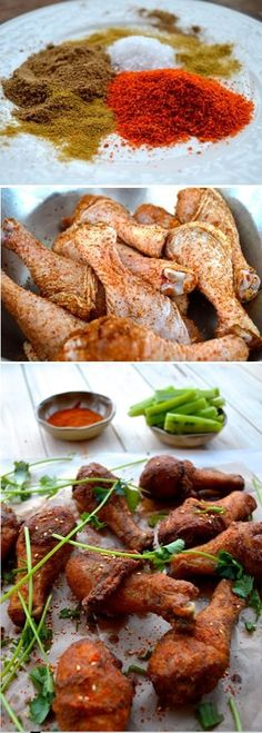 Fried Chicken with Xinjiang Spices, so tasty!!!