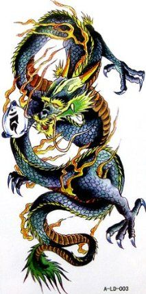 GGSELL YiMei Cool sexy waterproof colorful temporary tattoo stickers animal dragon by YiMei. $3.69. Made and sold by GGSELL--Ship form USA, the only authorized online distributor in the US. Our temporary tattoos are certified by F.D.A, EN71, ASTM, safe and non-toxic. Use parts: Can be used in the skin, metal pottery, glass and other surfaces. Attached to the waist, chest, neck, arms, back, legs, bikini, paste any position you like, you can also cover scars, etc.....