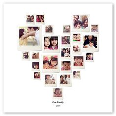 $6 at Shutterfly - Heart Collage