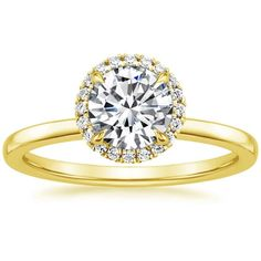 18K Yellow Gold Vienna Diamond Ring (1/4 ct. tw.) from Brilliant Earth