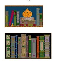 Two Needlepoint or Cross Stitch Patterns by CarolBeckDesigns, $19.20