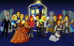Doctor Who -Simpsons cx