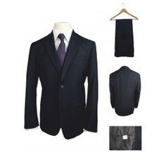 Κοστούμι Μονόχρωμο Μπλε Ανδρικό