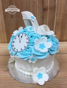 Cinderella Smash Cake by Sweet Doughmestics