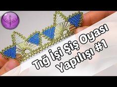 Beaded Crochet Lace on Skewers Model Making HD Quality Flower Video, Needle Lace, Scissors, Tatting, Crochet Earrings, Crochet Patterns, Beaded Bracelets, Embroidery, Youtube