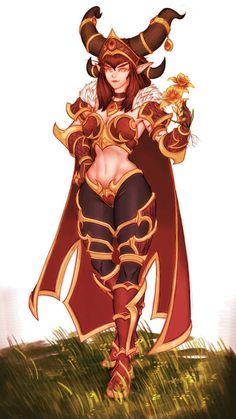 alexstrasza by FrozenTable on DeviantArt Warcraft Art, World Of Warcraft, Blood Elf, Night Elf, Heroes Of The Storm, Fantasy Characters, Fictional Characters, Fantasy Character Design, Beautiful Paintings
