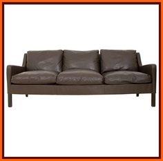 60s 70s retro DANISH 3 SEAT LEATHER FEATHER CLASSIC MOGENSEN SOFA vintage | eBay