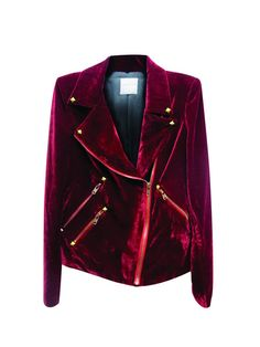 We die. A velvety, heavenly moto jacket death: http://shop.nylonmag.com/collections/whats-new/products/velvet-moto-jacket #NYLONshop