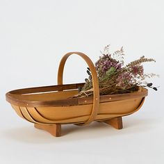 Myrtlewood Garden Basket. Speaking of harvesting, this basket would make it all the more glorious!
