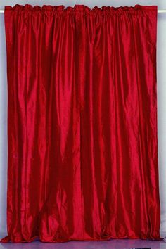Burgundy Dupioni Silk Drapes, drapery fabric, silk dupioni fabric ~ Home Design Dupioni Silk Fabric, Silk Curtains, Drapery Fabric, Fitted Blinds, Home Decor Inspiration, Luxury Homes, Burgundy, House Design, Silk Drapes