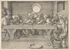 Albrecht Dürer (German, Nuremberg 1471–1528 Nuremberg) The Last Supper, n.d. Woodcut
