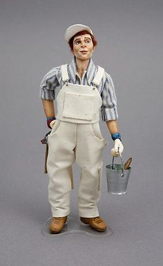 Delightful Workman by Sharon Cariola Doll Mine 1:12 Scale