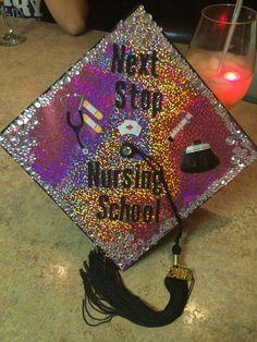 Cute graduation cap idea