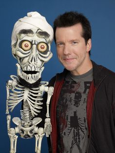 Jeff Dunham & Achmed the dead terrorist famously known ''SILENCE!!! I KILL YOU""