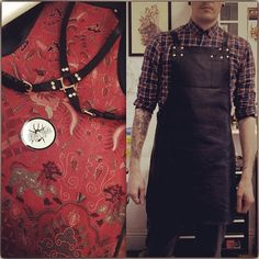 My rad new work apron arrived today from @ray_steels. Love it.