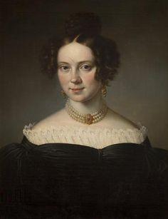 Marcin Jabłoński, Portret Joanny Teresy Kollarzowskiej, 1835   Katalog MNK