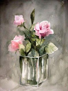 ACUARELAS DE ANA | Bouquet de fleurs