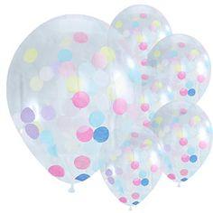 Pick & Mix Confetti Balloons - 12