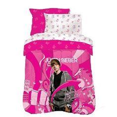 #8: Justin Bieber 'Justin's World' Microfiber Comforter Set Twin Size.