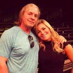 Bret Hart & Natalie Wilson