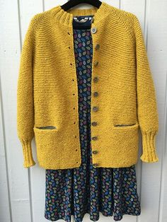 Charlotte Cardigan pattern by Carrie Bostick Hoge Crochet Jacket, Knit Jacket, Knit Crochet, Knitting Designs, Knitting Stitches, Hand Knitting, Cardigan Pattern, Jacket Pattern, Cardigan Design