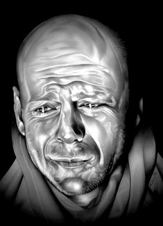"""""""Blueberry Hill"""" - 12 Monkeys (Bruce Willis - James Cole) - Illustration drawn in Graphite on Bristol thick sheet . Recurring Dreams, 12 Monkeys, Best Supporting Actor, Art Pages, Great Artists, Color Show, Fine Art America, Colorful Backgrounds, Illustration Art"""