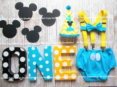 Baby Mickey Mouse Birthday cake smash .. Package  ♥ ♥ ♥ ♥ ♥ ♥ ♥ ♥ ♥ ♥ ♥ ♥ ♥ ♥ ♥ ♥ ♥ ♥ ♥ ♥ ♥ ♥ ♥ ♥ ♥ ♥ ♥ ♥ ♥ ♥ ♥ ♥ ♥ ♥ ALLOW THREE WEEKS before