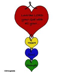 Beautiful Image Result For Love The Lord Your God With All Your Heart Craft