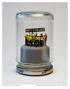 riots in jam jars by james cauty