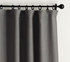 The finest in luxury linen, these exquisite blackout curtains are crafted from fabric woven at Libeco™, one of Belgium's oldest and most famous mills, for quality craftmanship and maximum light control. The sustainable carbon-neutral f… Grey Blackout Curtains, Striped Curtains, Printed Curtains, Bedroom Curtains, Sheer Drapes, Rod Pocket Curtains, Grommet Curtains, Custom Drapes