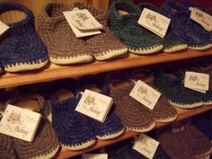 Padraig Slippers for Adults, Knitted Wool