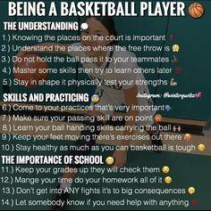 Basketball Tryouts, Basketball Skills, Basketball Quotes, Sports Basketball, Basketball Captions, Basketball Stuff, Volleyball, High School Hacks, Life Hacks For School