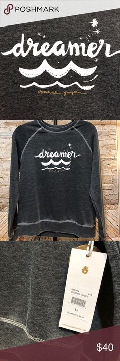 "NWT Spiritual Gangster Sweatshirt ""DREAMER"" Super cute and comfy❤️✌ Spiritual Gangster Tops Sweatshirts & Hoodies"