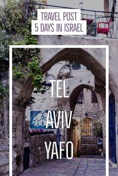 Sarah von HüGo Taste reiste nach Israel und verrät was man alles in 4 Nächten & 5 Tagen entdecken kann. Sie besuchte Tel Aviv, Jerusalem und das Tote Meer.