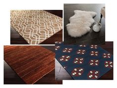 """""""Area Rug"""" by rugpal123 ❤ liked on Polyvore featuring interior, interiors, interior design, home, home decor, interior decorating, Surya and Safavieh"""