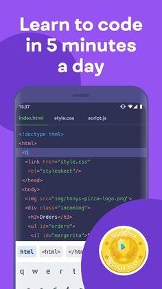 تطبيق تعلم البرمجة Mimo: Learn to Code مهكر للاندرويد احدث اصدار 3.46.1 [النسخة البريميوم المدفوعة] Learn To Code, Google Play, Coding, Learning, Apps, Studying, Teaching, App, Programming