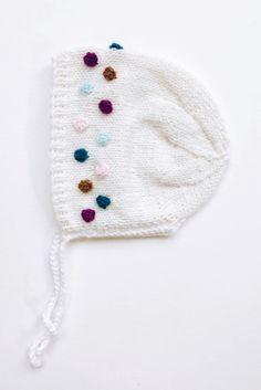 Handmade Knitted Popcorn Bonnet   MaxandOliviaCo on Etsy