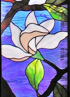 BACK to magnolias custom stained and leaded glass windows