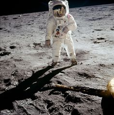 humanoidhistory:   Buzz Aldrin on the Moon, July...
