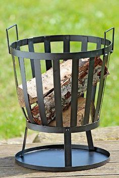 Lovely Feuerkorb Feuerstelle Feuerschale Kamin cm Diesen Feuerkorb wirst du bei deinen sch nen Abendstunden in Garten nicht