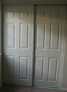 Make the most of your closet -- Replace Sliding Closet Doors with Standard Doors!