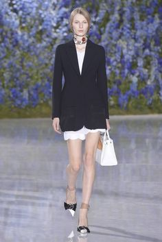 Dior RTW Spring 2016 - a classic blazer.