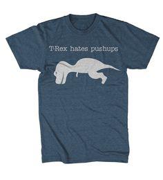 Dinosaur t shirt funny graphic shirt S3XL by CrazyDogTshirts, $14.99