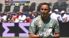 Real's Navas palms away Lingard's effort